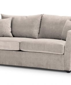 Special Offer Medium Sofa Bed with Flared Arms finished in Cream 4 Danza Fabric