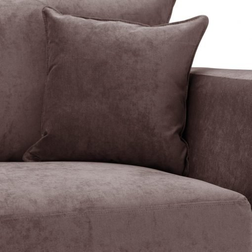 Special Offer Medium Sofa Bed with Flared Arms finished in Mink 6 Danza Fabric