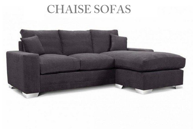 Chaise Sofas at Just British Sofas