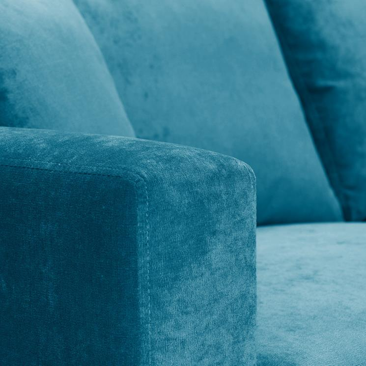 Sofa Bed | Metro Compact | Danza Teal | British Made 4