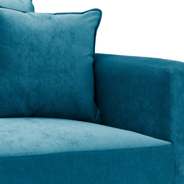 Sofa Bed | Metro Compact | Danza Teal | British Made 3