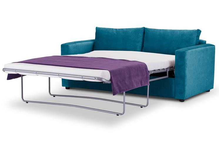 Sofa Bed | Metro Compact | Danza Teal | British Made 2