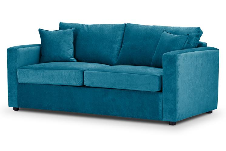 Sofa Bed | Metro Compact | Danza Teal | British Made 1