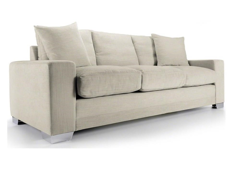 Chelsea sofa bed large in senna marmore fabric