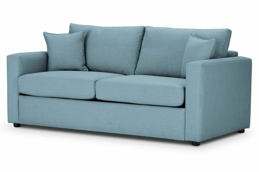 Metro Sofa Bed in Emporio Teal Fabric