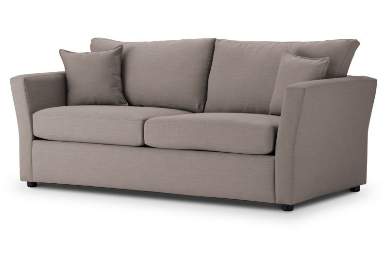 SOFA BED Flared Arm in Emporio Linen Emp515 01