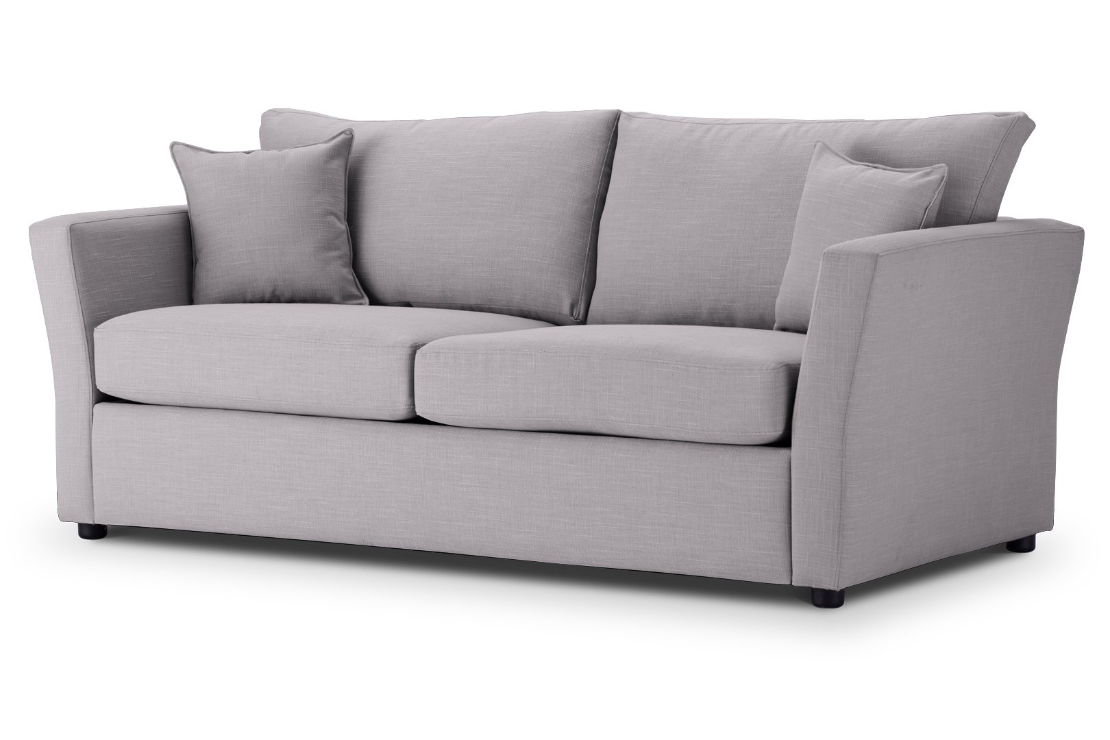 SOFA BED Flared Arm in Emporio Silver