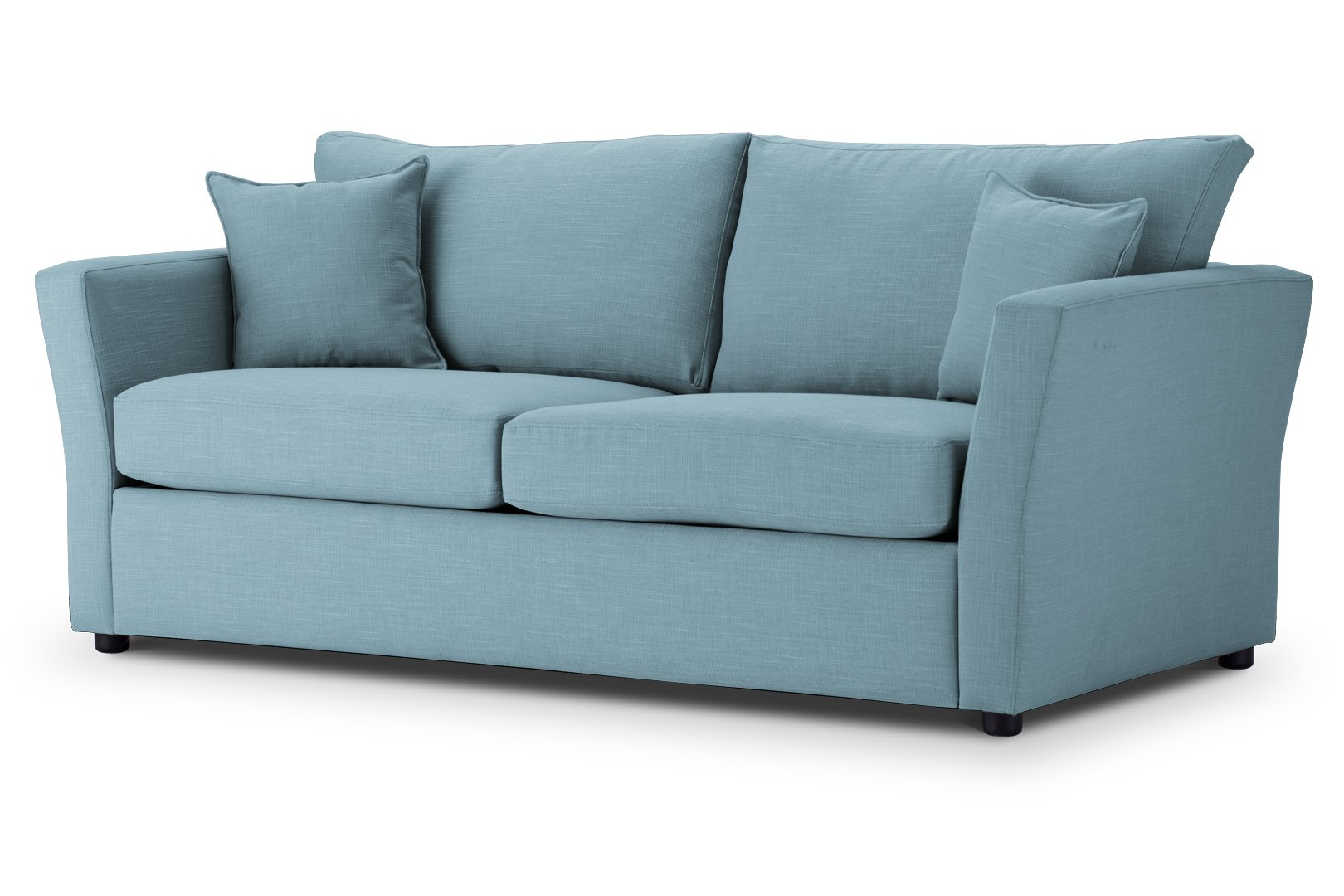SOFA BED Flared Arm in Emporio Teal Emp