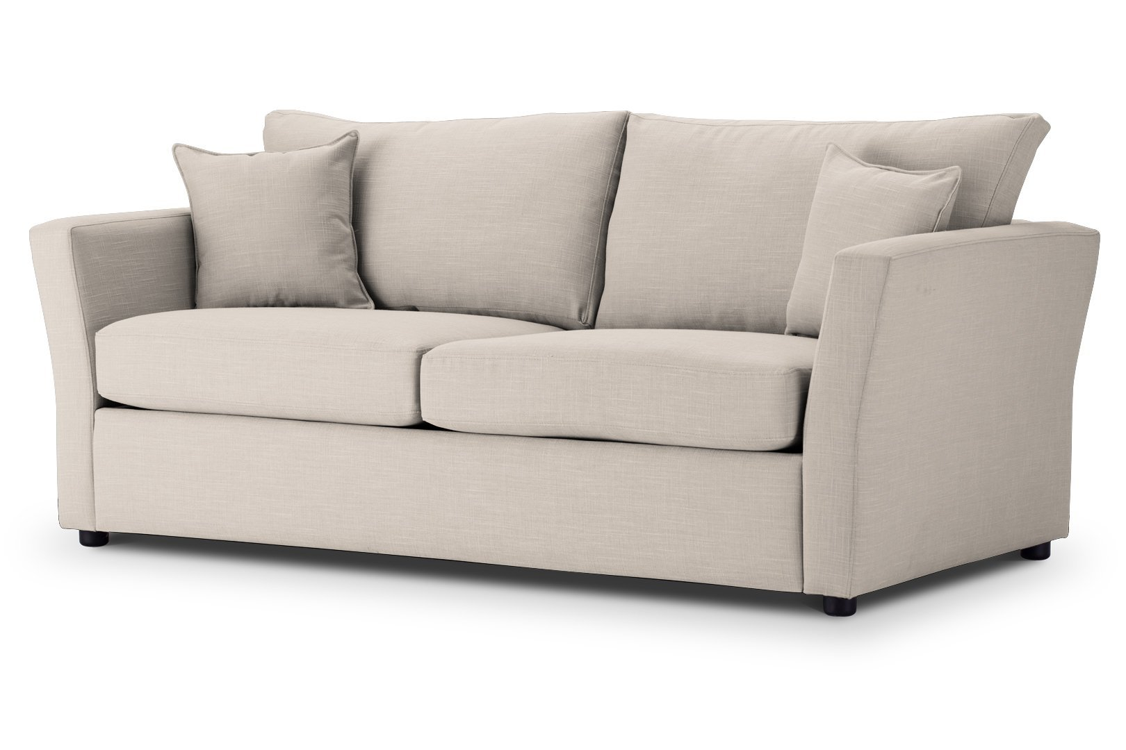 Sofa Bed Flared arms in Emporio Cream Fabric