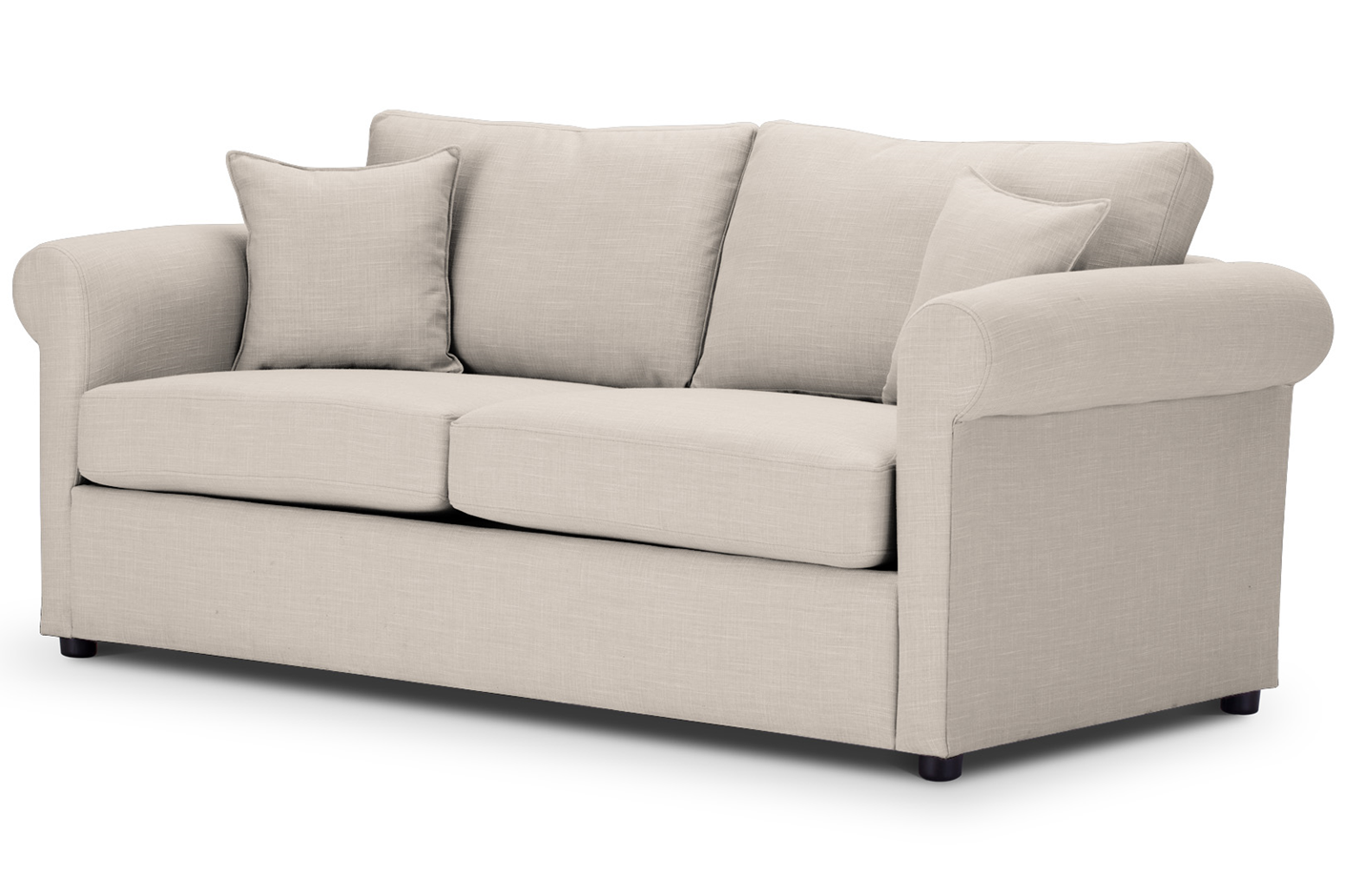 London Sofa at Just British Sofas 3 Seater in Emp500 Cream 02