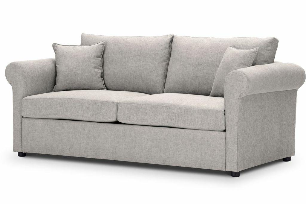 London sofa in ancona silver