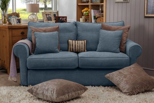 LIFESTYLE LONDON SOFA in Finesse Navy FIN2815