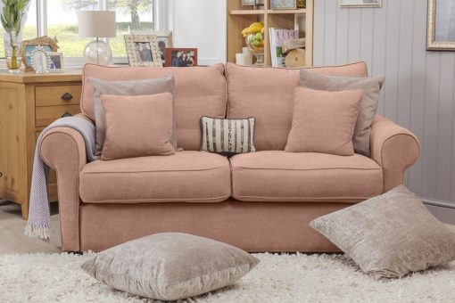 London Supreme dressed Sofa In Finesse Rosewood FIN2809